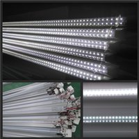 Wholesale T8 LED Tube Lights ft ft W W W W W AC85 V V shaped Integrated G13 from China Proffesional Manufacture