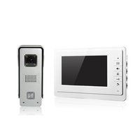 aluminum wire screen - V70F M3 villa video door phone Aluminum alloy CMOS camera inch screen and WLED night vision