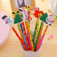 Wholesale Pencils Christmas styling pencil