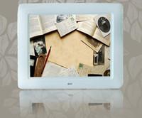 al por mayor reproducción de vídeo marcos digitales-8 pulgadas de alta definición wifi marco de fotos digital electrónico álbum de fotos compatible con la reproducción de vídeo WiFi marco de fotos