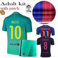 Wholesale Kit Jersey mess IA RD AA INI EST A Suarez Sergio pique i RA kit IC ney Mar Jr home and Jersey