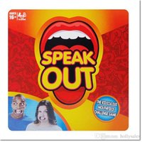 Wholesale hot sale Speak Out Game KTV party game cards for party Christmas gift newest best selling novelty toy dhl free