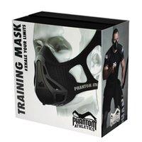 athletic training supplies - Phantom Athletics training mask for High quality training Boxing Fitness Supplies Equipment popular Training Mask