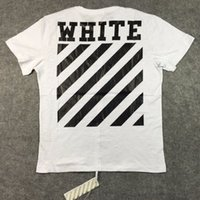 basic editions shirts - best edition with back seam Off White China classic Carry Over letter basic stripe print cotton t shirt tee