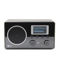 alarm clock internet radio - Ocean Digital Wooden FM Internet Radio WiFi Music LCD UPnP Clock Alarm Player