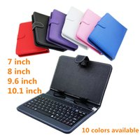 Wholesale keyboard holster inch inch inch9 inch10 inch Tablet Case keyboard ipad holster universal keyboard tablet computer protection case