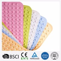 Wholesale 36 x cm best price wholesales eco friendly tub mats anti slip bath mat set plastic