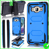 For Samsung belt amps - Heavy Duty Full body Rugged Holster Armor Case Belt Clip For Galaxy J3 Galaxy Sky Amp Prime Express Prime