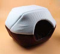 best pet house - Best Quality Soft Sponge Dog House Cashmere like soft warm Pet Cat Bed Pet Nest luxury Dog nest Luxury warm round