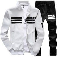 Wholesale New Winter Jacket Mens Hoodies and Sweatshirts Sweat Suits Oversized Male Hooded Sets Sporting Suit Brand Mens Tracksuit Sets
