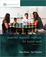 Wholesale 1 piece Empowerment Series Essential Research Methods for Social Work th Edition In Stock