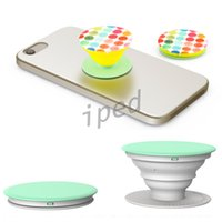 Wholesale Many Desgin popsockets pop Without logo Expanding Stand and Grip Card holder phone holderfor for Smartphones Tablets For Iphone Samsung