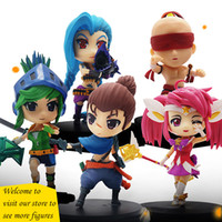 Wholesale 2017 New styles League of Legends Action Figure Toys Cute Action Figures Game Anime Model Collection Toys Garage Kit with box gifts