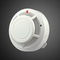 Wholesale New Arrival High sensitivity Wireless Photoelectronic Smoke Detector For Home Store Hotel Factory HKPAM