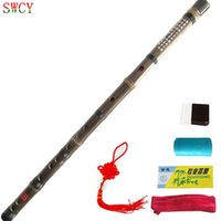 Wholesale Chinese Bamboo Flute Music C key Flute Flauta Bambu one section Flauta Instrument China handmade Chinese Bamboo Flute Music