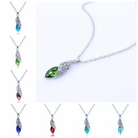 african star ruby - New Austria crystal Jewelry women Sugar treasure Desert Star pendant necklace pendant Girl birthday gift