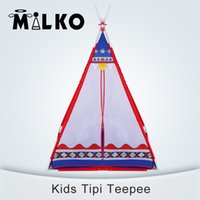 baby lodge - Kids Tipi Tent Teepee Tent For Children Toy Tent Baby Play Game Balls Pit Playpens Portable Tente Enfant Lodge Christmas Gift