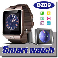 Wholesale DZ09 Smartwatch Smart Watchs iwatch With SIM Intelligent Android Samsung Mobile Phone Watch Can Record The Sleep State