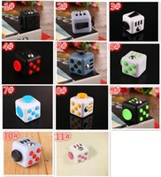 Wholesale 30pcs New Popular designs Decompression Toy Fidget cube the world s first American decompression anxiety Toys In stock Y004
