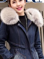 Wholesale 2016 new winter fashionable and trend and loose thick warm cashmere coat jeans maternity women