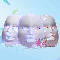 anti aging led device - 7 colors Photodynamic LED Facial Mask Skin Rejuvenation Electric Device Anti Aging Face Mask Beauty Machine