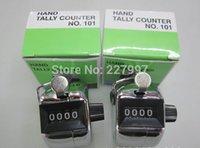 Tally Counter Hand Held Compte Golf Golf Lap Compte d'inventaire - Vente en gros de gros de gros 100pcs / lots 20161123 #
