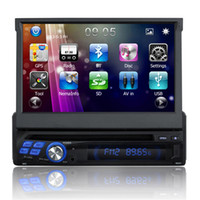 Wholesale 7 inch single din car dvd car audio player Core Android Universal Car dvd With Capacitive touch screen GPS IPOD BT