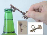 Wholesale New Bottle Openers Key Shape Bottle Opener Steel Bronze Keychain Bottle Opener Antique Retro Opener