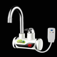 Wholesale BD3000W Earth Leakage Protection p Digital Display Instant Hot Water Tap Tankless Electric Faucet Kitchen Faucet Water Heater