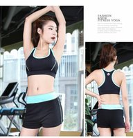 Wholesale Professional high intensity yoga clothing vest shockproof running fitness sports underwear bra thin section wicking summer