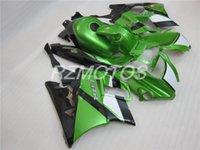Tres libre regalo hermoso y nuevo ABS de alta calidad carenado conjunto para HONDA CBR600 91-94 CBR 600 F2 1991 1992 1993 1994 agradable blanco negro verde