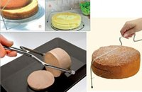 baking wire - Fashion Hot Baking Pastry Tools Adjustable Wire Cake Slicer Leveler Stainless Steel Slice for Layer