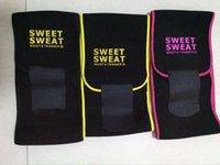 Wholesale 2017 Sweet Sweat Premium Waist Trimmer Men Women Belt Slimmer Exercise Ab Waist Wrap with color retail box