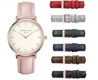 custom made watches uk uk delivery on custom made watches resistant simple women watches rose field 760 luxury brand fashion casual clock leather watchband rose dial quartz men wrist watch custom made dh0975