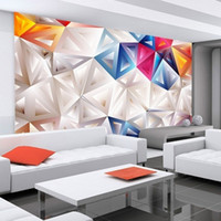 abstract vintage wallpaper - D Stereo Modern Minimalist Geometric Personality Wallpaper HD Custom Wall Painting Abstract Wallpaper Mural