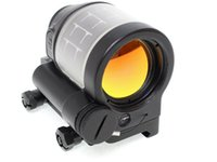 Wholesale Tactical Hunting Reflex Sight Solar Power System Trijicon SRS Red Dot Sight Scope Riflescope With Kill Flash