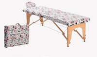 Wholesale New Arrival Printed Folding Massage table Portable Salon Equipment for Professional Massagers Spy Shops and Tattoo Services