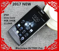 Wholesale 2017 NEW Blackview BV7000 Pro G Mobile Phone IP68 Waterproof Android Octa Core inch GB RAM GB ROM