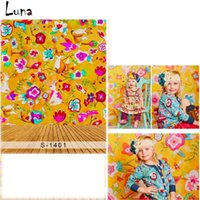 Wholesale 5x7ft Painting Flower Vinyl Photography Background For Wedding Backdrop For Children Newborn photo studio Props