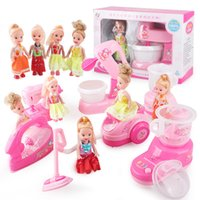 appliances blender - Mini Simulation blender electric small house appliances with barbie toys for kid lovely classic toy the best gift for children
