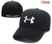 under armour hat - price Under Stretch Fitted Ball Hats Fashion Street Headwear adjustable size Armour custom adult caps drop shipping top quality