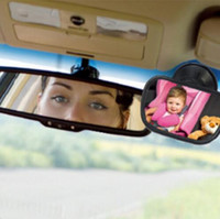 baby mirror for car seat - Mini Acrylic Suction Clip Installing Baby View Car Rearview Mirror For Child Safety Seat On The Visor And The Windshield