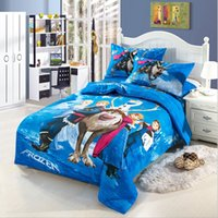 Wholesale Kids Cotton pc Bedding set Children s pc Bedding set Cotton Fashion Cartoon Designs Duvet Cover Bedsheet Pillowcase