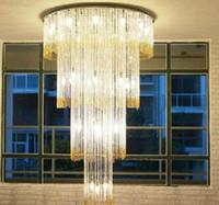 beautiful chandelier lighting - beautiful crystal light chandelier LED luminare modern chandeliers living room lamp diameter cm high quality guarantee
