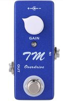 Wholesale Mini TM Overdrive Guitar Effect Pedal And True Bypass