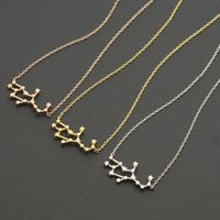 astrology jewelry - One Piece Virgo Zodiac Necklace Astrology Constellation Jewelry Personalized Virgo Necklace Women Good Gift for Sisters