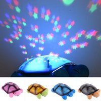 baby projection lamp - Children toys musical projection lamp turtle High quality lamp tortoise toy Light sleep For Baby kids