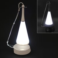 Wholesale Sensor Switch Creative LED Desk Lamp Table Lamp with Mini Speaker Function LEG_014