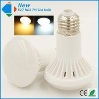 best quality umbrellas - 1Pcs Best led bulbs E27 W led home lamp R63 smd high quality Ac v V warm white pure white bulb lighting