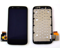 Wholesale lcd For Motorola MOTO G XT1032 XT1033 Full LCD Display Panel Touch Screen Digitizer Glass Assembly With Frame Replacement Part